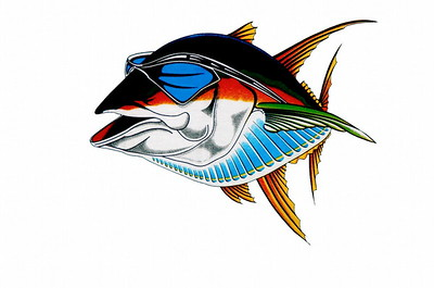 This is my logo, the Cool Tuna is also the name of my Blog - CoolTunaPhotos, check it out for all the latest news on my fishing trips or fishing news from San Diego.  Thanks for looking at my pictures and let me know what you like or don't like. I can handle it..